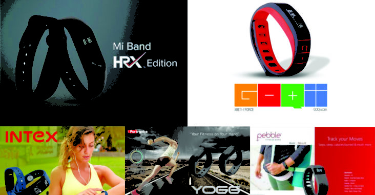 fitness tracker smart band for corporate gifting