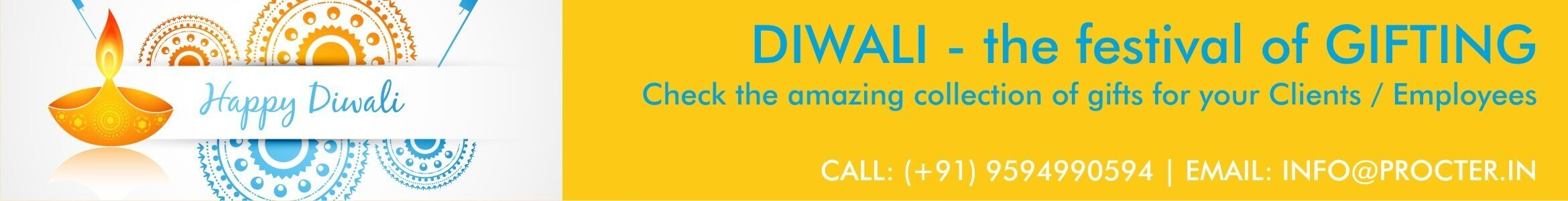 diwali corporate gifts ideas banner