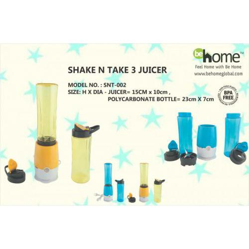 BeHome Shake N Take 3 Juicer SNT-002