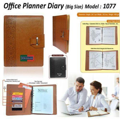 Office Planner Diary (Big Size) 1077