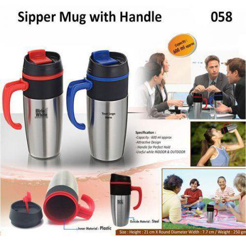 Sipper Mug with Handle 500ML 058