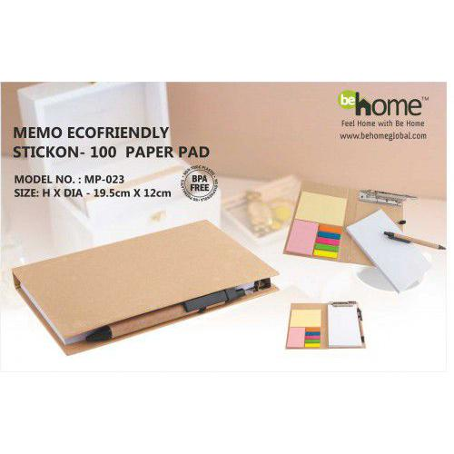 BeHome Memo Ecofriendly Stickon MP-023