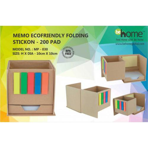 BeHome emo Ecofriendly Folding Stickon MP - 030
