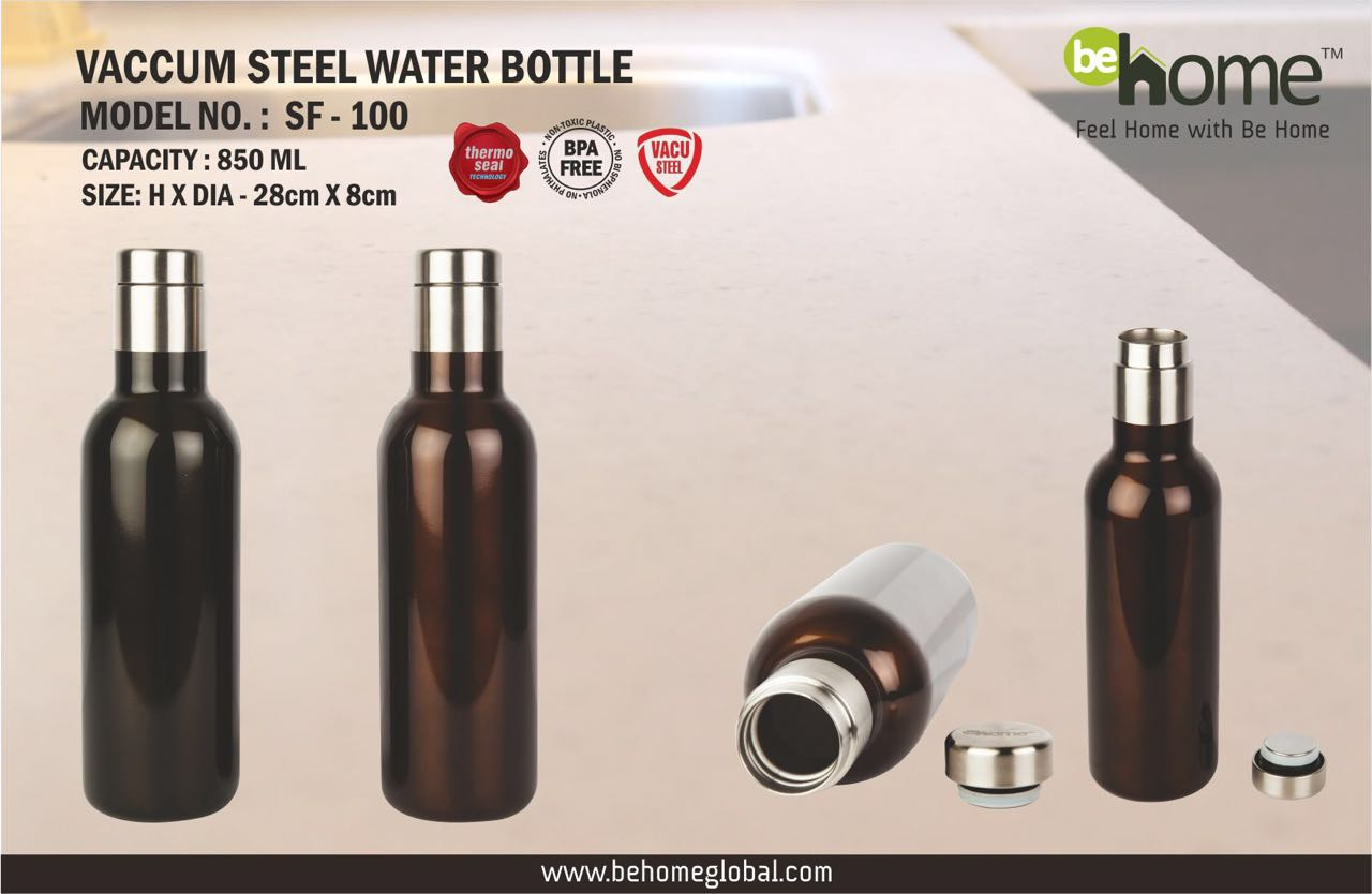 BeHome Vaccum Steel Bottle SF � 100