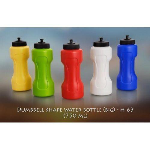 Dumbbell shape water bottle big (750 ml)