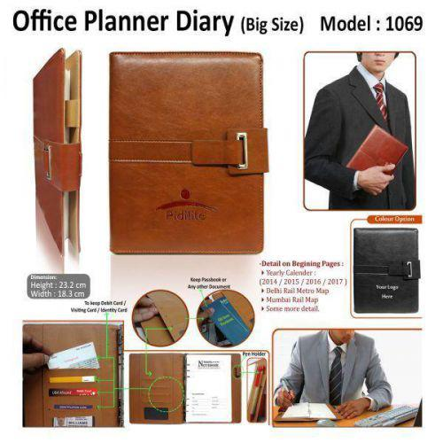 Office Planner diary (Big-Size)-1069