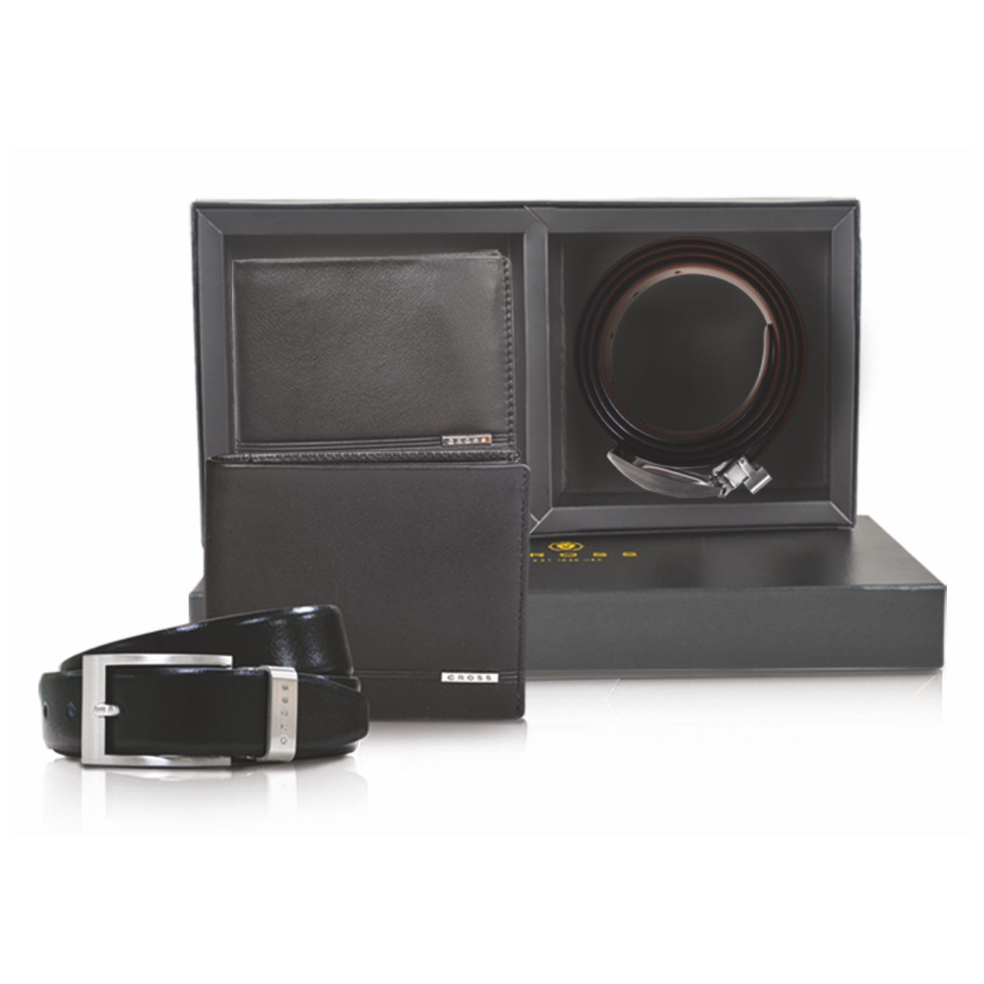 Click Image for Gallery CROSS Classic Century Slim Wallet + Manresa Belt Gift Set, ACC1300_1