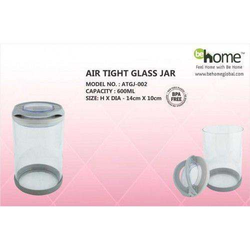 BeHome Air Tight Glass Jar ATGJ-002