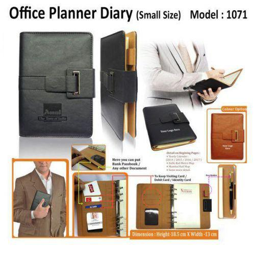 Office Planner diary (Small-Size)-1071