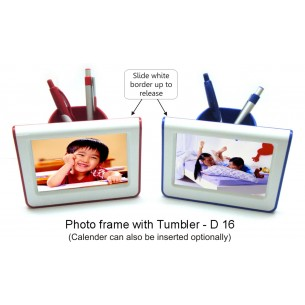 PHOTO FRAME WITH TUMBLER D16