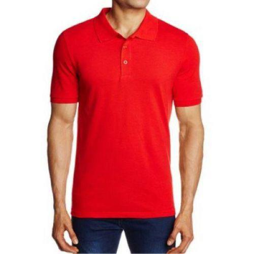 Puma Unisex Red Polo T-shirt