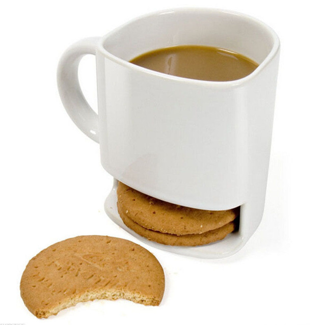 Cookie Mug Ceramic Biscuit Mug UG-DB40