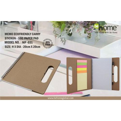 BeHome Memo Ecofriendly Carry Stickon MP - 031