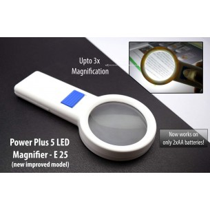 POWER PLUS 5 LED MAGNIFIER E25