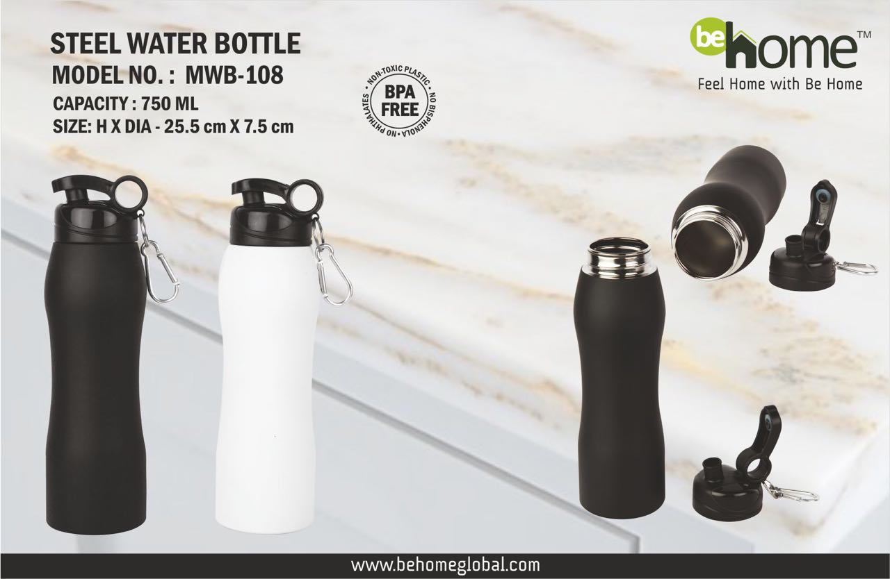 BeHome Steel Bottle MWB-108