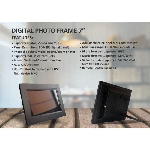 XECH Digital Photo Frame 7inches