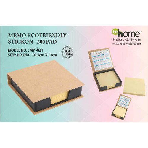 BeHome Memo Ecofriendly Stickon MP-021