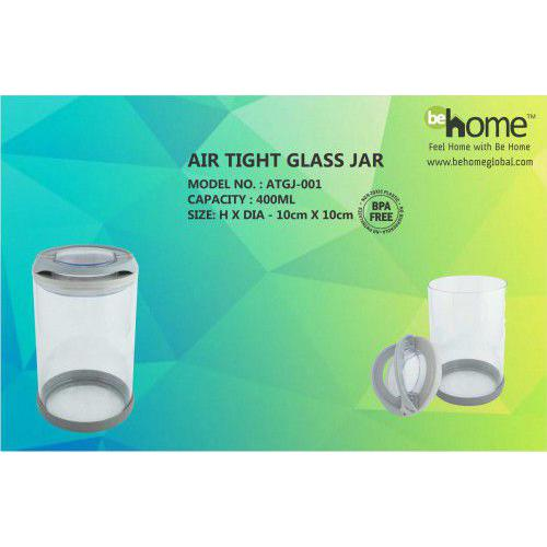 BeHome Air Tight Glass Jar ATGJ-001