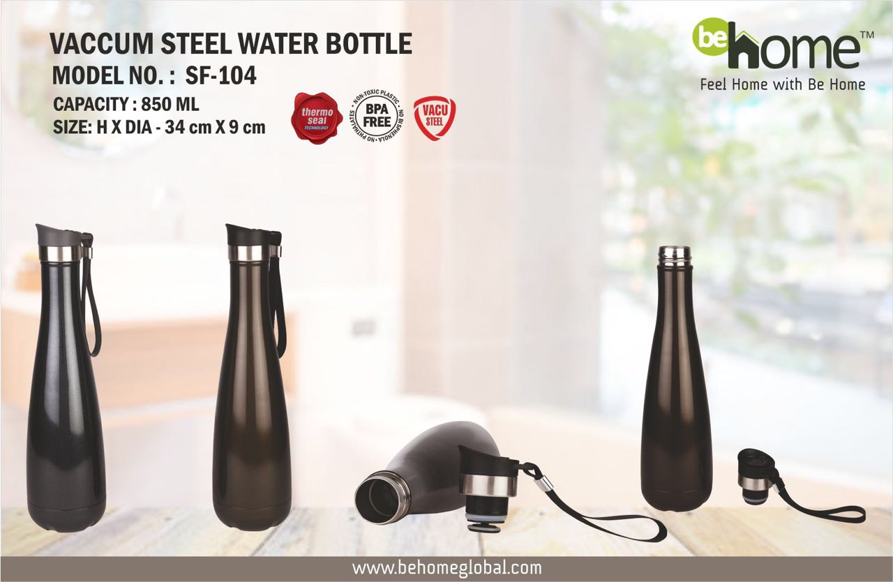BeHome VACCUM STEEL WATER BOTTLE SF - 104