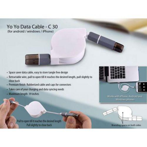 Yo yo data cable (for android / windows / iPhone)