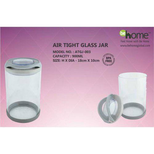 BeHome Air Tight Glass Jar ATGJ-003