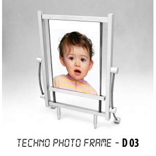 TECHNO PHOTO FRAME (METAL) D03