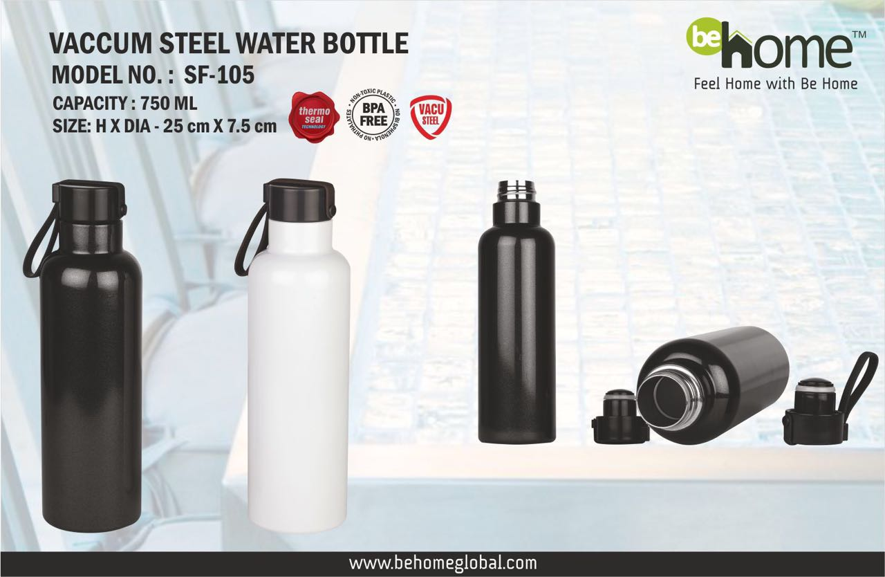 BeHome VACCUM STEEL WATER BOTTLE SF - 105