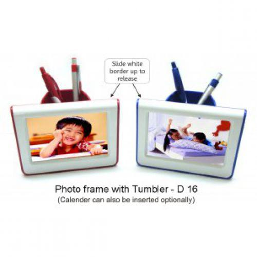 D16 - PHOTO FRAME WITH TUMBLER