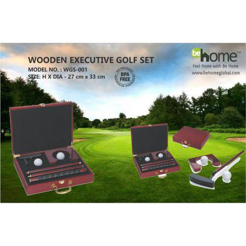BeHome Wooden Executive Golf Set WGS-001