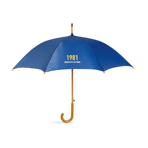 Promotional 26 INCH Auto Straight Wooden Umbrella