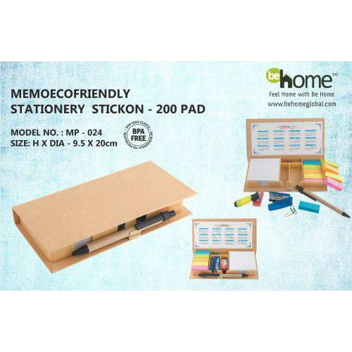 BeHome Memo Eofriendly Stationery Stickon MP-024