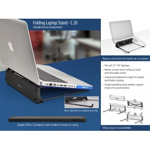 C20 Folding laptop stand (suitable for travelling)