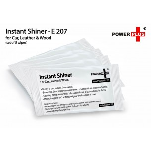 INSTANT SHINER: FOR CAR, LEATHER & WOOD E207