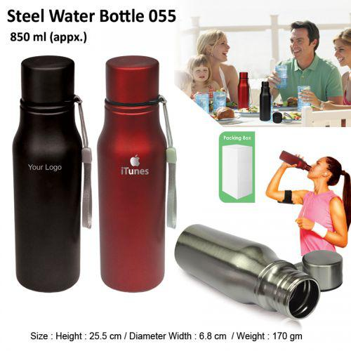 Steel Water Bottle 850ML-055