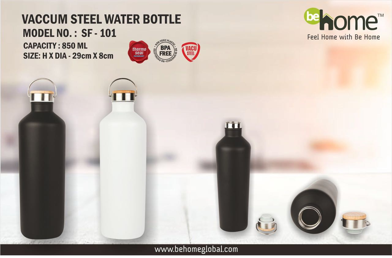 BeJHome VACCUM STEEL WATER BOTTLE SF - 101