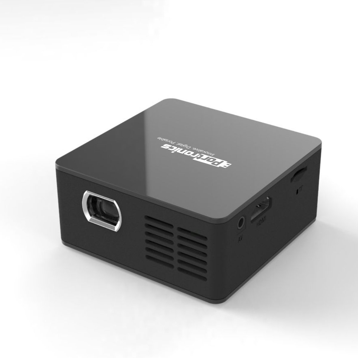 Portronics POR-600 Progenie Highly Powerful Portable LED Projector (100 lumens) is Well Suited for W
