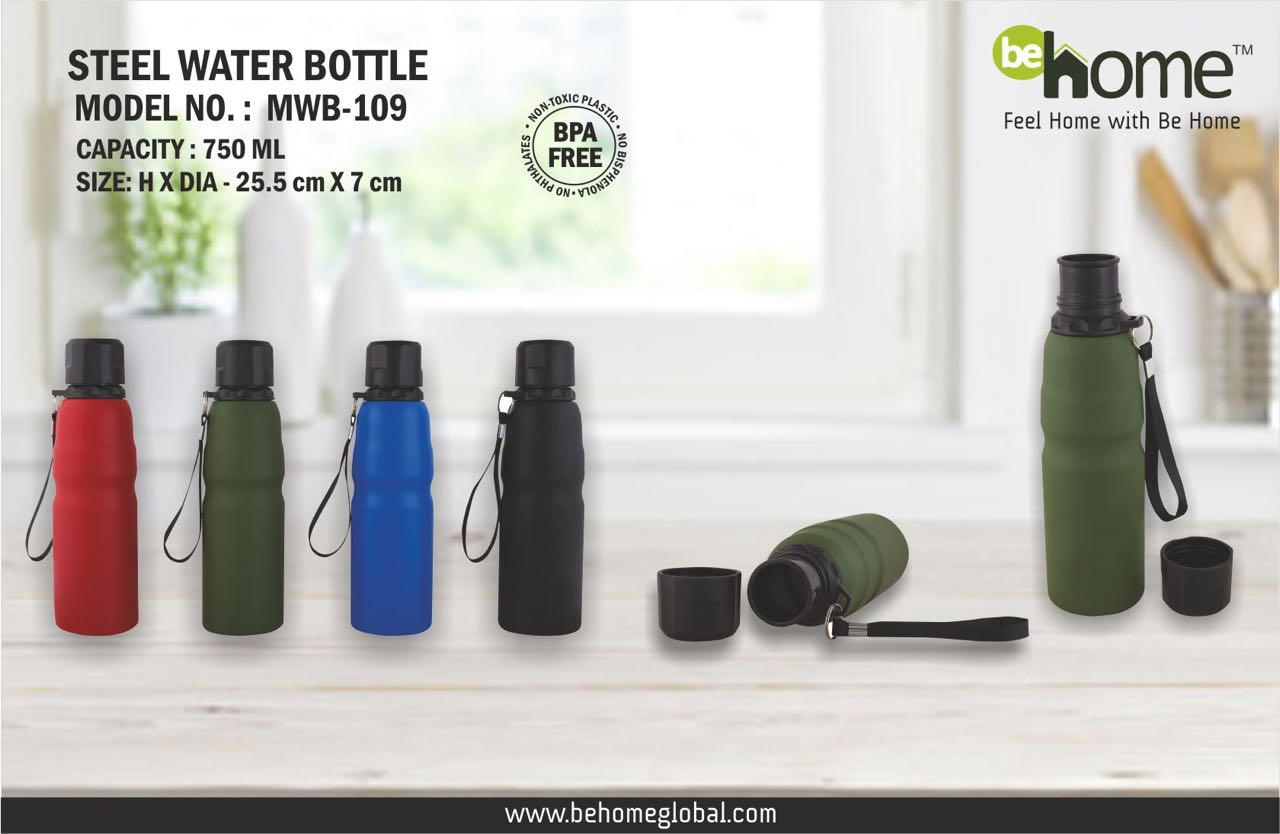BeHome Metal Water Bottle MWB-104