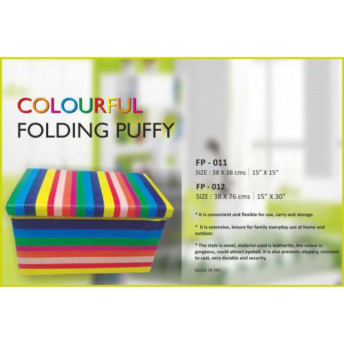 BeHome COLOURFUL FOLDING PUFFY (38cm X 76cm)