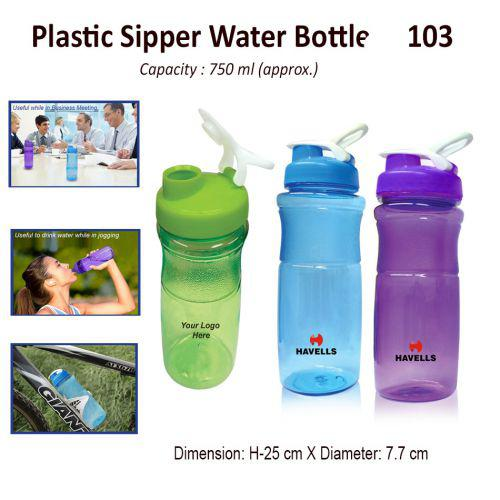 Plastic Sipper Water Bottle 750ML-103