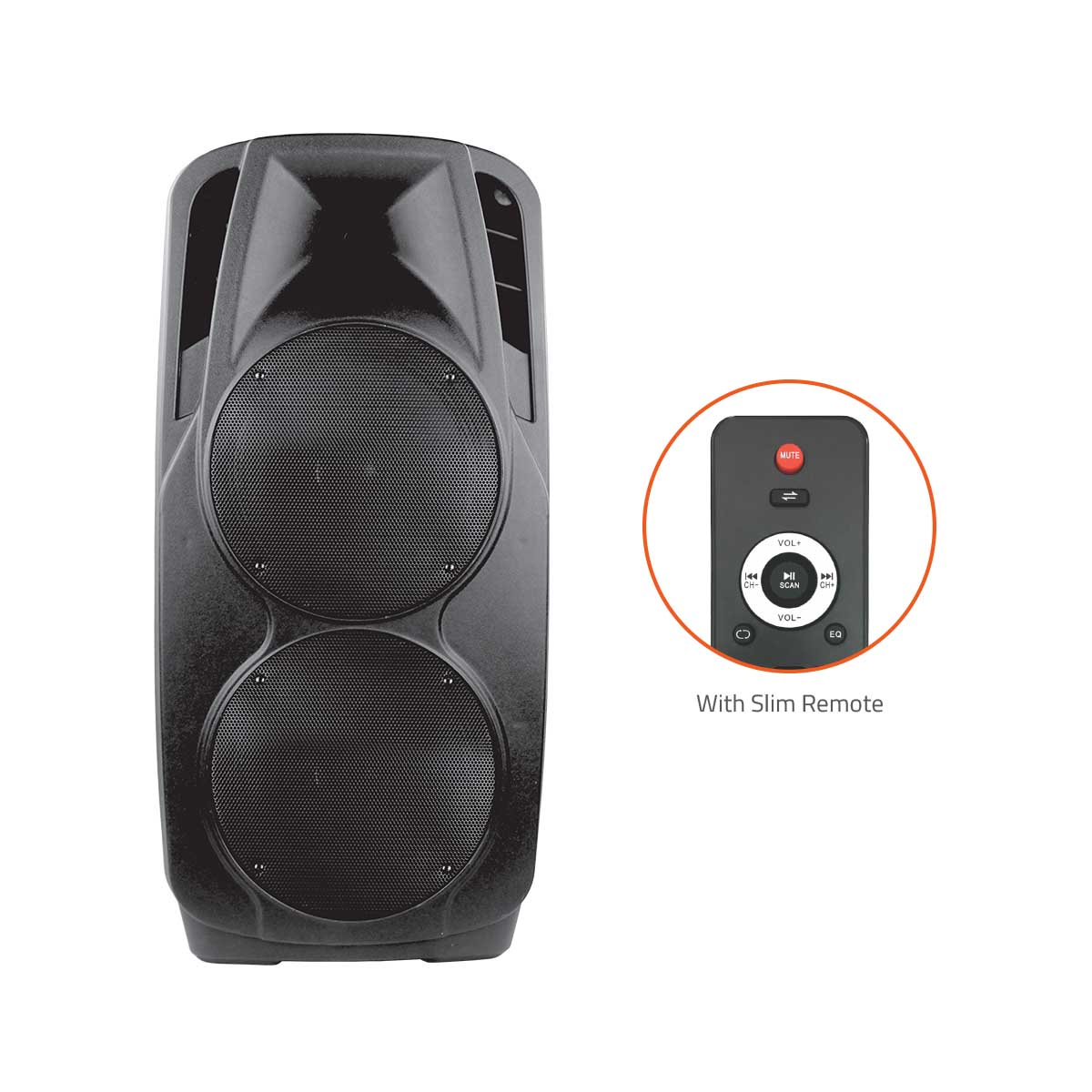 Artis BT927 OUTDOOR BLUETOOTH SPEAKER WITH USB /FM/TF CARD READER/AUX IN/MIC IN TROLLEY BLUETOOTH SP