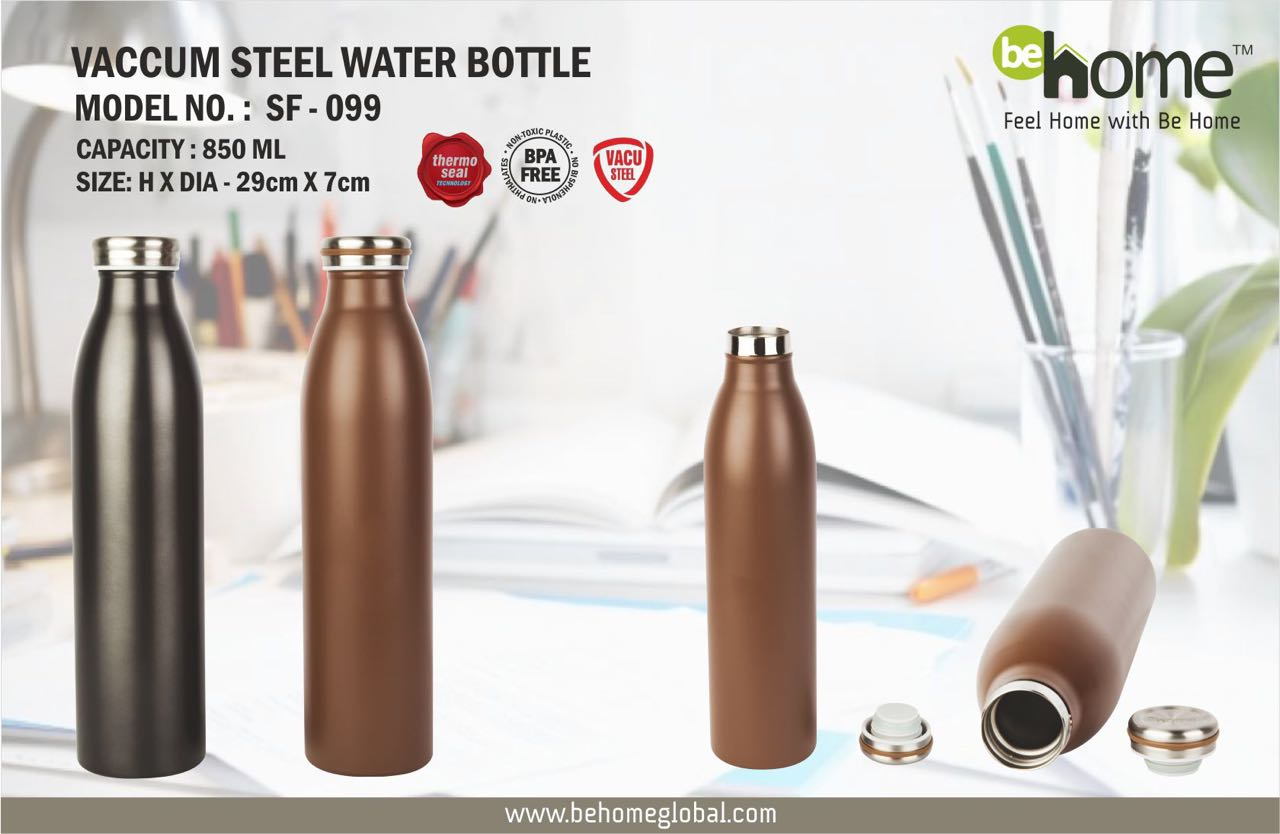 BeHome Vaccum Steel Bottle SF � 099
