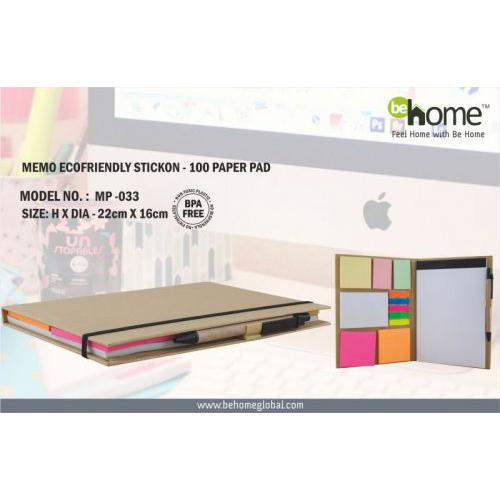 BeHome Memo Ecofriendly Stickon MP - 033