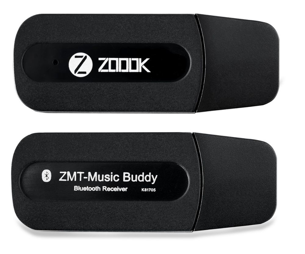 Zoook bluetooth receiver for car ZK-ZMT-MUSICBUDY
