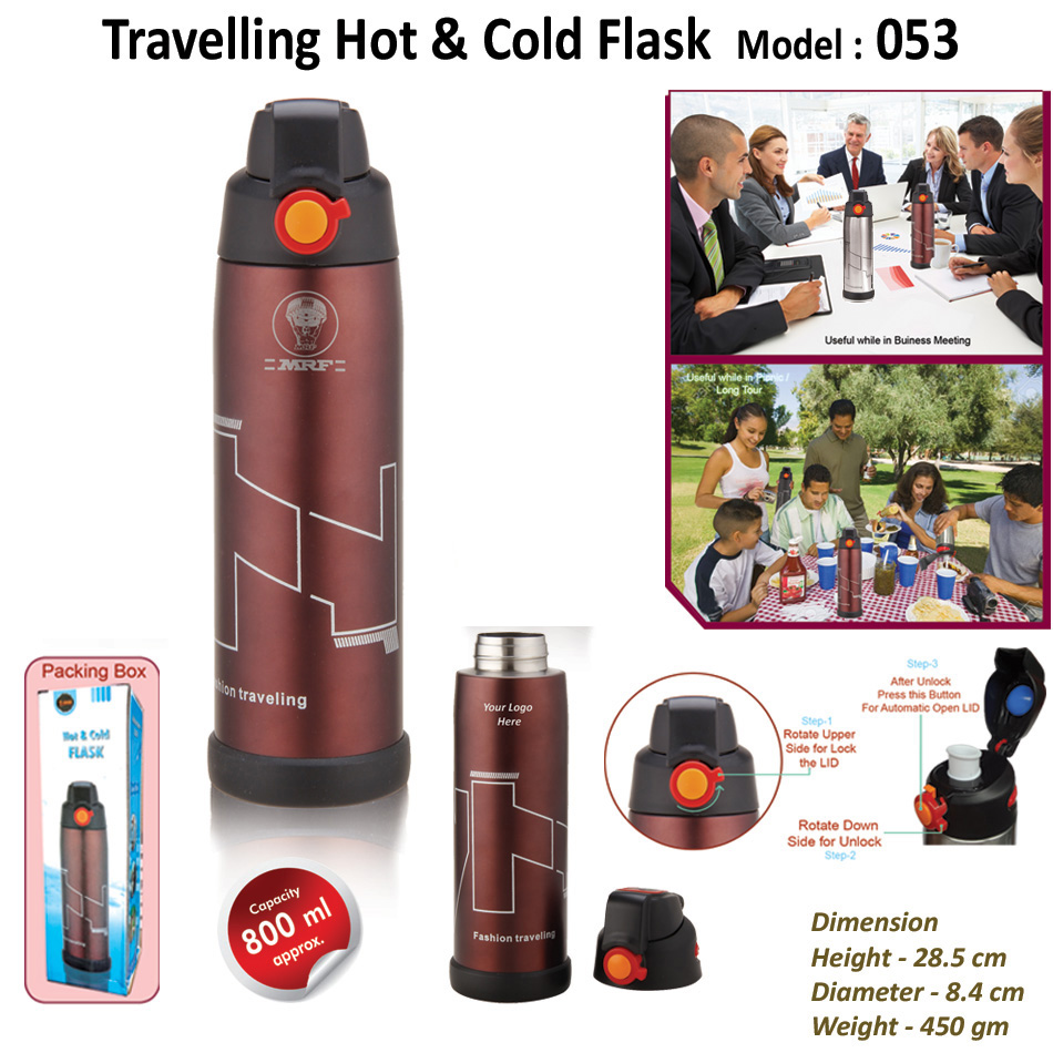 Travelling Hot & Cold Flask  H-053