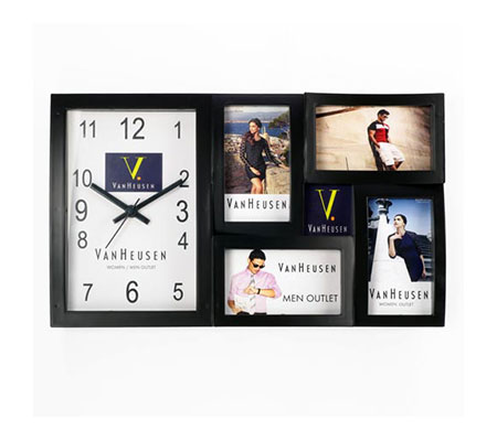Collage Wall Clock  (Dial 150 X 240 mm) TB 1704