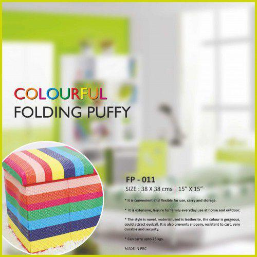 BeHome COLOURFUL FOLDING PUFFY (38cm X 38cm)