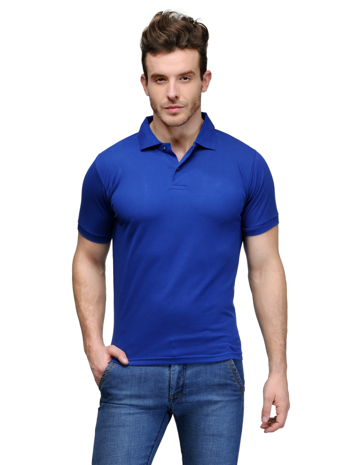 6 Degree cotton polo T-shirt 6D2407