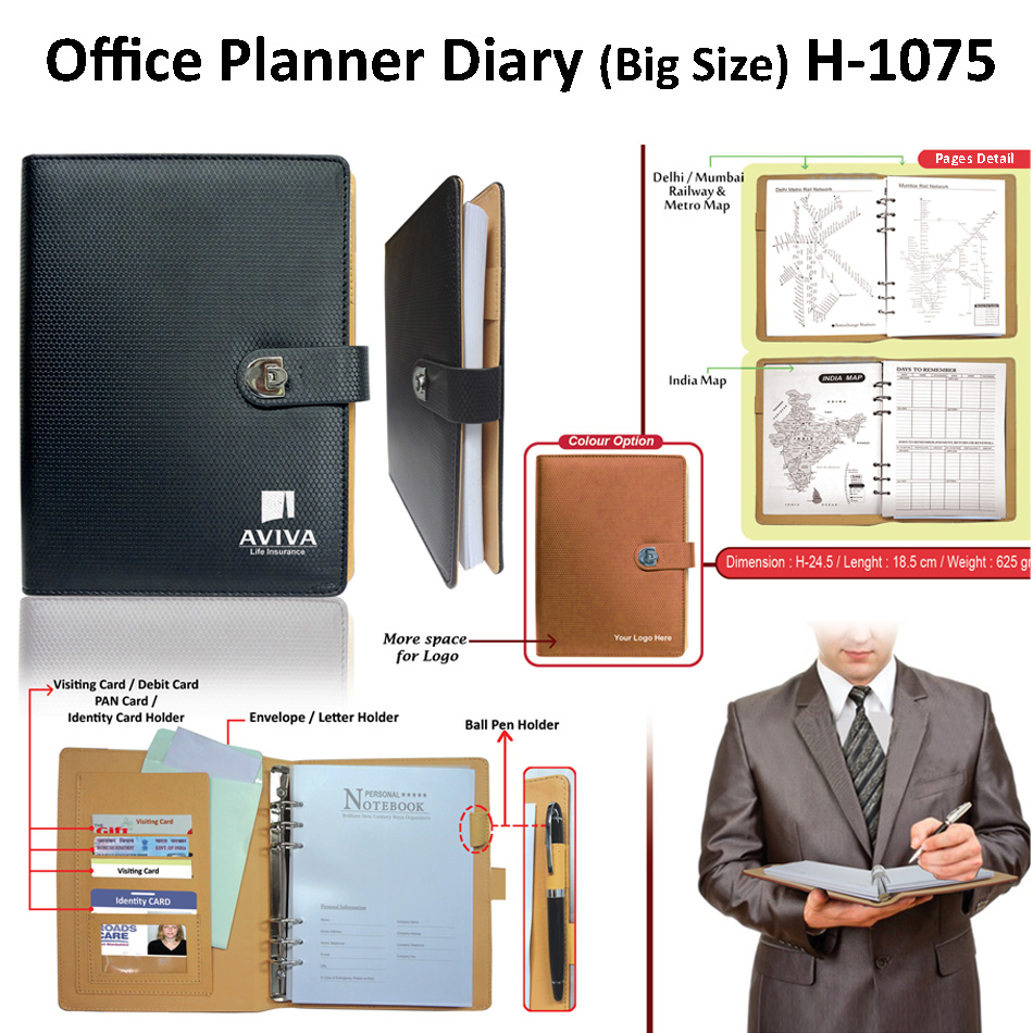 Office Planner Diary (Big Size) H-1075