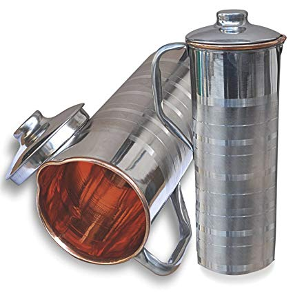 SS Copper Fridge Luxury Bottle 1000ML DC-45