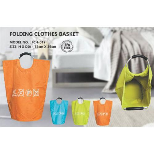 BeHome FOLDING CLOTHES BASKET (72cm X 36cm)